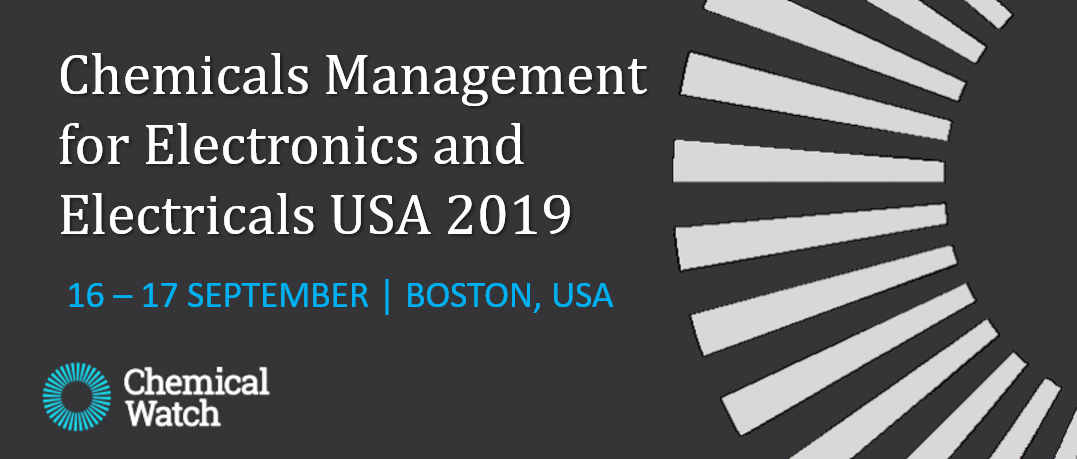 Join us in Boston for the Chemicals Management for Electronics and Electricals Conference